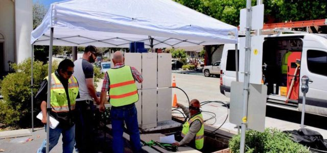First Phase of Fiber Construction Winding Up in Downtown Santa Cruz